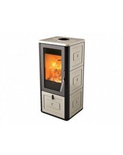 Печь-камин MCZ Chari Warm Grey