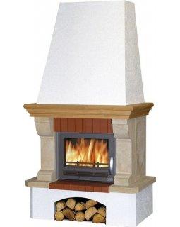 Камин с облицовкой Oxford Klasik, с теплообменником