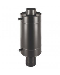 Теплообменник BLACK 12л на трубе д.115 штамп. (AISI 439)