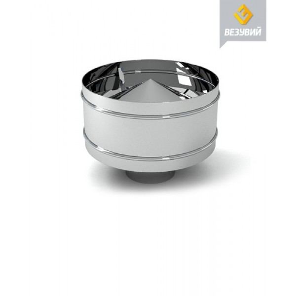 Дефлектор нерж. (AISI 430/0,5мм) д.120х200