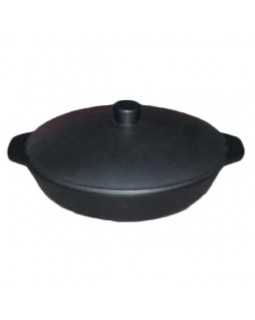 Сковорода чугунная с крышкой 280/60-2