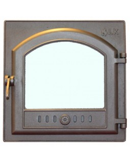 305 LK Дверца герметичная со стеклом (410х410)