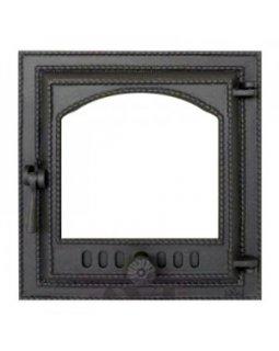 410 SVT каминная дверца со стеклом(одностворчатая)