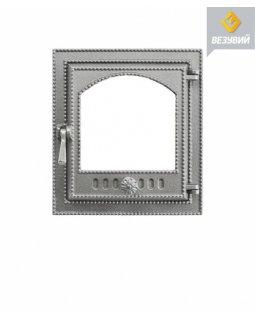 Дверка Везувий каминная 210 (не крашенная. без стекла) (325х290)