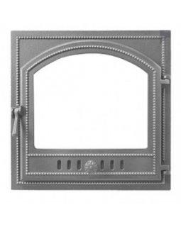 Дверка Везувий каминная 205 (не крашенная, без стекла) (415х415)