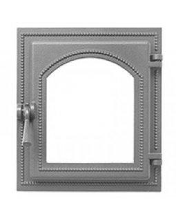 Дверка Везувий каминная 220 (не крашенная, без стекла) (325х290)
