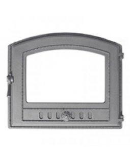 Дверка Везувий каминная 224 (не крашенная, без стекла) (330х410)