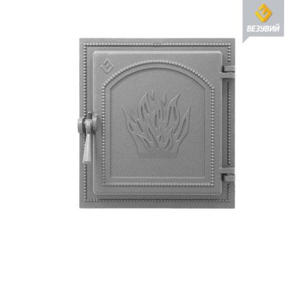 Дверка ВЕЗУВИЙ каминная 271 (не крашенная)