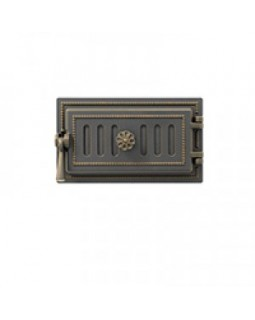 Дверка Везувий поддувальная 236 (Бронза) (140х275)