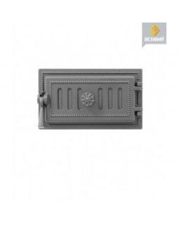 Дверка Везувий поддувальная 236 (Антрацит) (140х275)