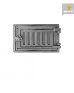 Дверка Везувий поддувальная ДП-2 (не крашенная) (140х250)