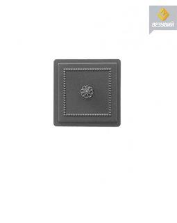 Дверка Везувий прочистная 235 (Антрацит) (130х130)