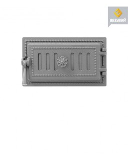 Дверка Везувий поддувальная 236 (не крашенная) (140х275)
