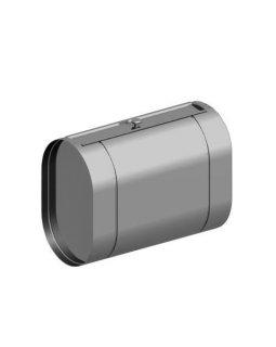 Бак нержавейка 90л под контур (Горизонталь) (AISI 439)