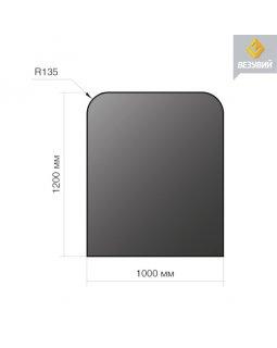 Лист напольный сталь 1200*1000*2 R135