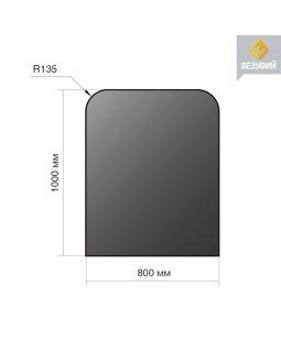Лист напольный сталь 1000*800*2 R135