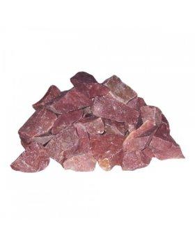 Камень Малиновый кварцит колотый (коробка 20кг)