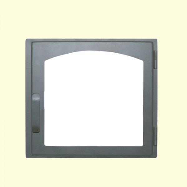 Печная дверь Мета ДЕ424-1А (370х341)