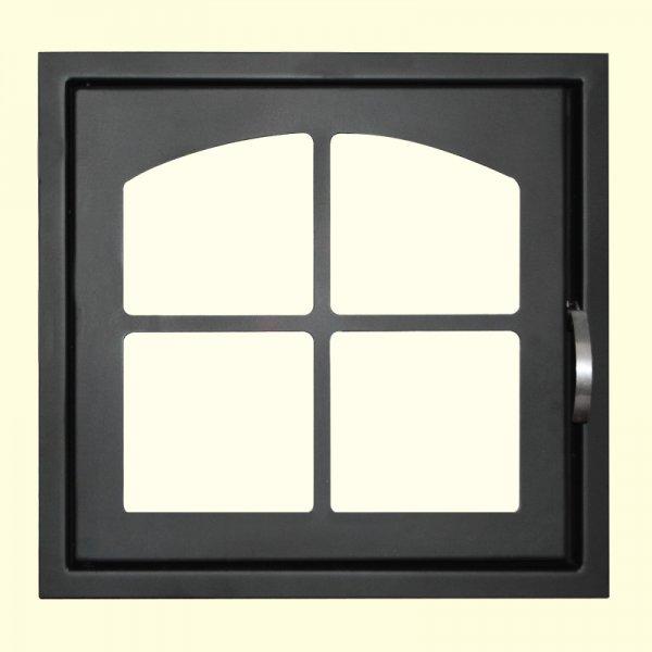 Печная дверь Мета ДК555-1К (505х480)