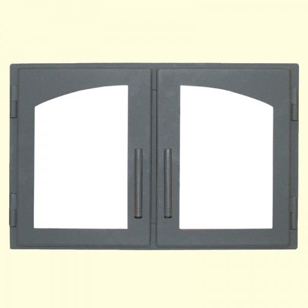 Печная дверь Мета ДВ544-2А (490х291)