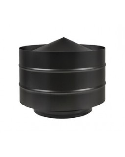 Дефлектор BLACK (AISI 430/0,5мм) Ø115х200