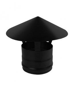 Зонт нерж. BLACK (AISI 430/0,5мм) д.115