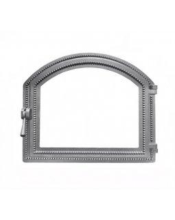 Дверка Везувий каминная 217 (не крашенная, без стекла) (337х405)