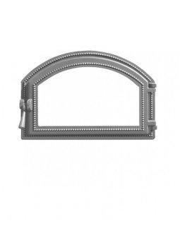 Дверка Везувий каминная 222 (не крашенная, без стекла) (407х273)