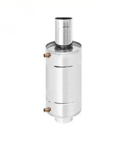 Теплообменник 12л на трубе д.115 штампованный (AISI 439)