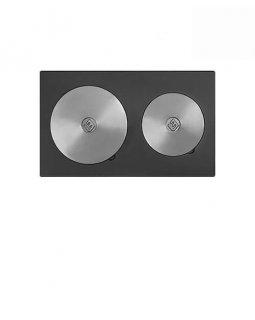 Плита Усиленная двухконфорочная 3В (584х344)