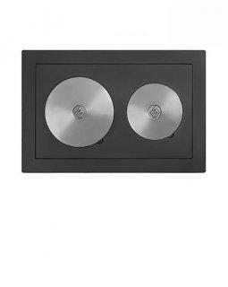 Плита Усиленная двухконфорочная 5В (460х700)