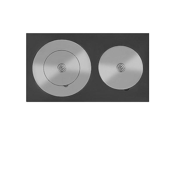 Усиленная плита двухконфорочная 4В (410х710)
